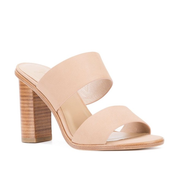 f8b38ea4ff3e Joie Shoes - Joie Size 8.5 leather Banner mules Heels Sandals